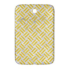 Woven2 White Marble & Yellow Colored Pencil (r) Samsung Galaxy Note 8 0 N5100 Hardshell Case  by trendistuff