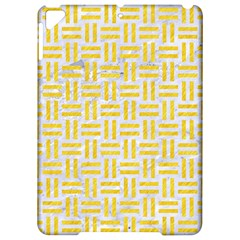 Woven1 White Marble & Yellow Colored Pencil (r) Apple Ipad Pro 9 7   Hardshell Case by trendistuff