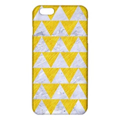 Triangle2 White Marble & Yellow Colored Pencil Iphone 6 Plus/6s Plus Tpu Case by trendistuff