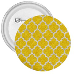 Tile1 White Marble & Yellow Colored Pencil 3  Buttons by trendistuff