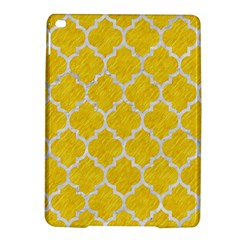 Tile1 White Marble & Yellow Colored Pencil Ipad Air 2 Hardshell Cases