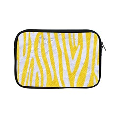 Skin4 White Marble & Yellow Colored Pencil (r) Apple Ipad Mini Zipper Cases by trendistuff
