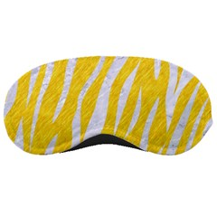 Skin3 White Marble & Yellow Colored Pencil Sleeping Masks by trendistuff