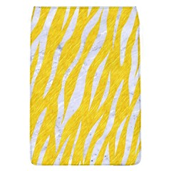 Skin3 White Marble & Yellow Colored Pencil Flap Covers (l)  by trendistuff