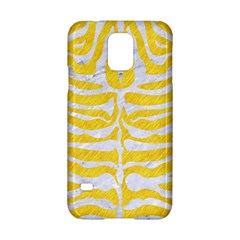 Skin2 White Marble & Yellow Colored Pencil Samsung Galaxy S5 Hardshell Case  by trendistuff