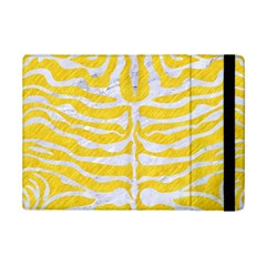 Skin2 White Marble & Yellow Colored Pencil Ipad Mini 2 Flip Cases by trendistuff