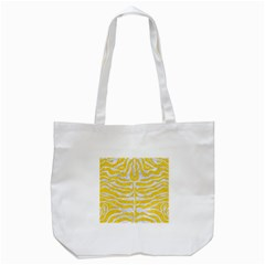 Skin2 White Marble & Yellow Colored Pencil Tote Bag (white) by trendistuff