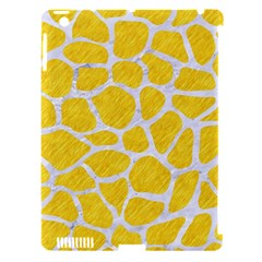 Skin1 White Marble & Yellow Colored Pencil (r) Apple Ipad 3/4 Hardshell Case (compatible With Smart Cover) by trendistuff