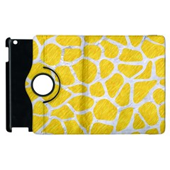 Skin1 White Marble & Yellow Colored Pencil (r) Apple Ipad 2 Flip 360 Case by trendistuff