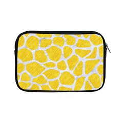Skin1 White Marble & Yellow Colored Pencil (r) Apple Ipad Mini Zipper Cases by trendistuff