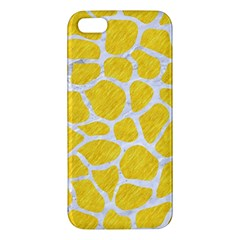 Skin1 White Marble & Yellow Colored Pencil (r) Iphone 5s/ Se Premium Hardshell Case by trendistuff
