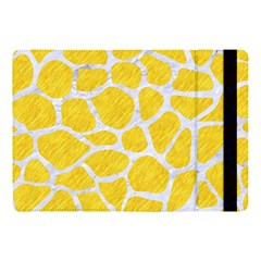 Skin1 White Marble & Yellow Colored Pencil (r) Apple Ipad Pro 10 5   Flip Case by trendistuff