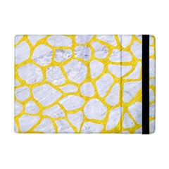 Skin1 White Marble & Yellow Colored Pencil Ipad Mini 2 Flip Cases by trendistuff