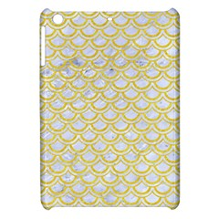 Scales2 White Marble & Yellow Colored Pencil (r) Apple Ipad Mini Hardshell Case by trendistuff