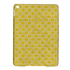 Scales2 White Marble & Yellow Colored Pencil Ipad Air 2 Hardshell Cases by trendistuff