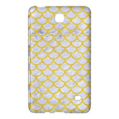 Scales1 White Marble & Yellow Colored Pencil (r) Samsung Galaxy Tab 4 (8 ) Hardshell Case  by trendistuff