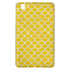 Scales1 White Marble & Yellow Colored Pencil Samsung Galaxy Tab Pro 8 4 Hardshell Case by trendistuff