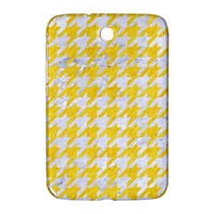 Houndstooth1 White Marble & Yellow Colored Pencil Samsung Galaxy Note 8 0 N5100 Hardshell Case  by trendistuff