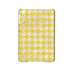 Houndstooth1 White Marble & Yellow Colored Pencil Ipad Mini 2 Hardshell Cases by trendistuff