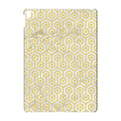 Hexagon1 White Marble & Yellow Colored Pencil (r) Apple Ipad Pro 10 5   Hardshell Case by trendistuff