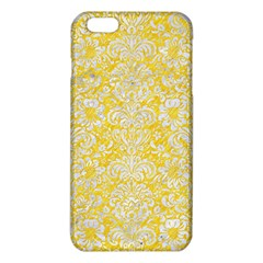 Damask2 White Marble & Yellow Colored Pencil Iphone 6 Plus/6s Plus Tpu Case by trendistuff