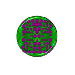 The Pixies Dance On Green In Peace Hat Clip Ball Marker by pepitasart