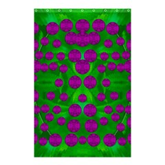 The Pixies Dance On Green In Peace Shower Curtain 48  X 72  (small)  by pepitasart