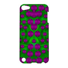 The Pixies Dance On Green In Peace Apple Ipod Touch 5 Hardshell Case by pepitasart