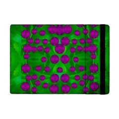 The Pixies Dance On Green In Peace Apple Ipad Mini Flip Case by pepitasart