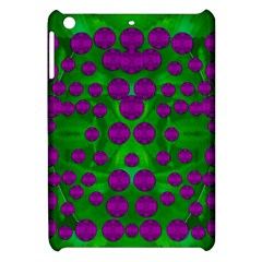 The Pixies Dance On Green In Peace Apple Ipad Mini Hardshell Case by pepitasart