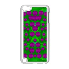The Pixies Dance On Green In Peace Apple Ipod Touch 5 Case (white) by pepitasart