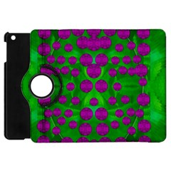 The Pixies Dance On Green In Peace Apple Ipad Mini Flip 360 Case by pepitasart