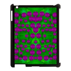 The Pixies Dance On Green In Peace Apple Ipad 3/4 Case (black) by pepitasart