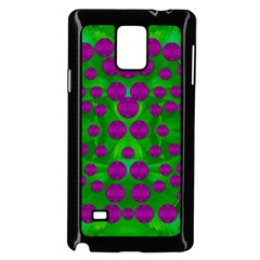The Pixies Dance On Green In Peace Samsung Galaxy Note 4 Case (black) by pepitasart