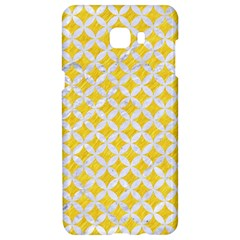 Circles3 White Marble & Yellow Colored Pencil Samsung C9 Pro Hardshell Case  by trendistuff