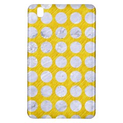 Circles1 White Marble & Yellow Colored Pencil Samsung Galaxy Tab Pro 8 4 Hardshell Case by trendistuff
