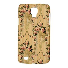 Vintage Floral Pattern Galaxy S4 Active by paulaoliveiradesign