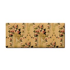 Vintage Floral Pattern Cosmetic Storage Cases by paulaoliveiradesign