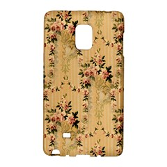 Vintage Floral Pattern Galaxy Note Edge by paulaoliveiradesign