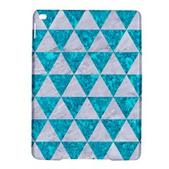 Triangle3 White Marble & Turquoise Marble Ipad Air 2 Hardshell Cases by trendistuff