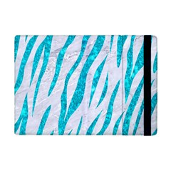 Skin3 White Marble & Turquoise Marble (r) Ipad Mini 2 Flip Cases by trendistuff