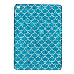 Scales1 White Marble & Turquoise Marble Ipad Air 2 Hardshell Cases by trendistuff