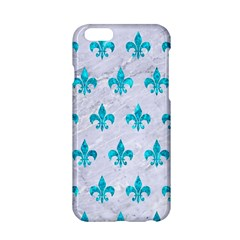 Royal1 White Marble & Turquoise Marble Apple Iphone 6/6s Hardshell Case by trendistuff