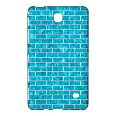 Brick1 White Marble & Turquoise Marble Samsung Galaxy Tab 4 (7 ) Hardshell Case  by trendistuff