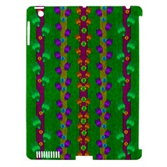Roses Climbing To The Sun With Grace And Honor Apple Ipad 3/4 Hardshell Case (compatible With Smart Cover) by pepitasart