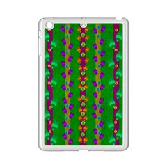 Roses Climbing To The Sun With Grace And Honor Ipad Mini 2 Enamel Coated Cases by pepitasart