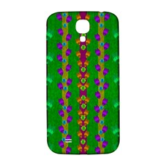 Roses Climbing To The Sun With Grace And Honor Samsung Galaxy S4 I9500/i9505  Hardshell Back Case by pepitasart