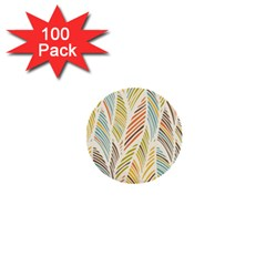 Decorative  Seamless Pattern 1  Mini Buttons (100 Pack)  by TastefulDesigns