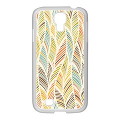 Decorative  Seamless Pattern Samsung Galaxy S4 I9500/ I9505 Case (white) by TastefulDesigns