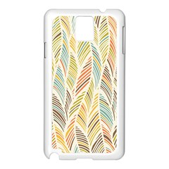 Decorative  Seamless Pattern Samsung Galaxy Note 3 N9005 Case (white) by TastefulDesigns